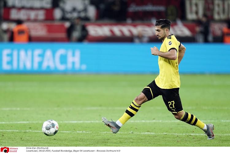 Emre Can (Borussia Dortmund) connaît sa suspension en Ligue des Champions