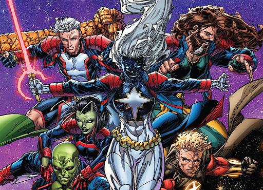 'Guardians of the Galaxy' #15 goes to the S.W.O.R.D. station