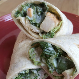 Grilled Chicken Ranch Wrap