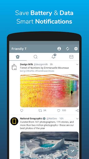 Friendly For Twitter 3.1.4 screenshots 2