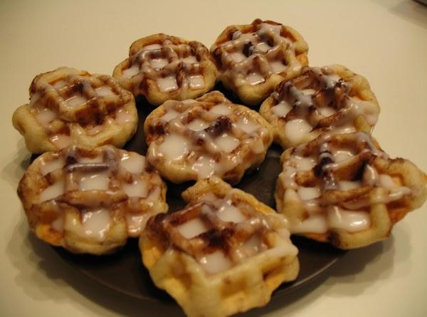 Cinnamon Roll Waffle Iron Style Recipe
