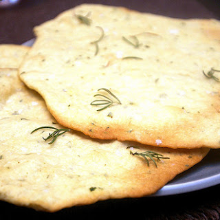 Crisp Rosemary Flatbread Recipe
