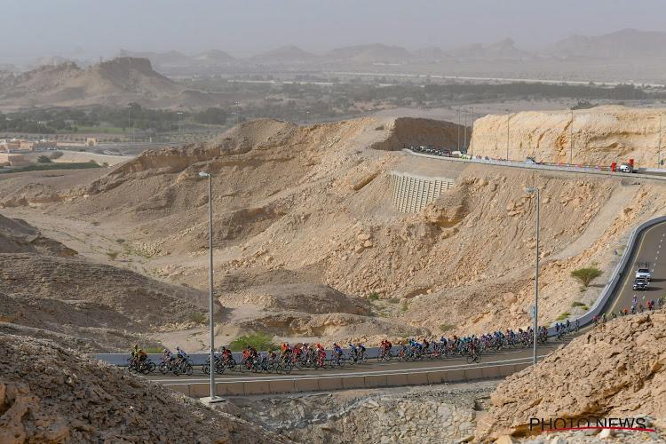 Coronavirus slaat voor het eerst toe in het wielrennen: UAE Tour defintief gestaakt