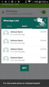Lock for Whatsapp screenshot 2