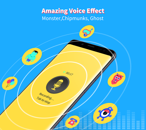 Voice Changer - Magic your voice, cool effects 1.003 screenshots 1