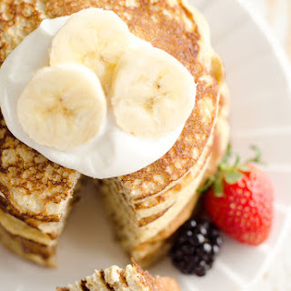 Light & Fluffy Banana Protein Pancakes