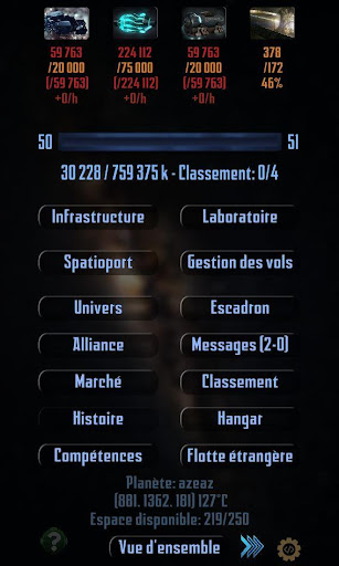 DISCOVERY: Space Empire (beta)  astuce 1