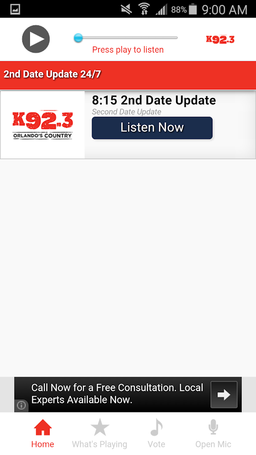 K92.3- screenshot