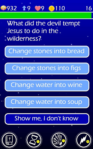 Play The Jesus Bible Trivia Challenge Quiz Game 1.43 screenshots 13