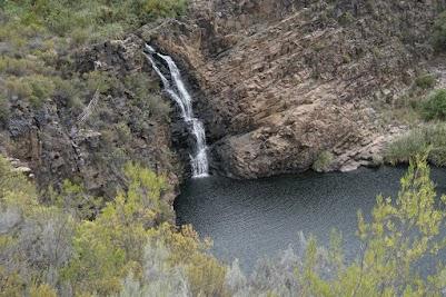 Wasserfall am Campingplatz Eagle Falls