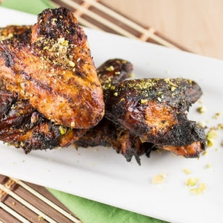 Harissa Rubbed Grilled Chicken Wings