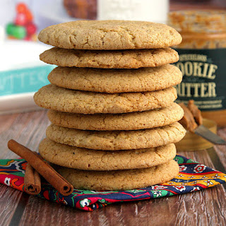 Cookie Butter Stuffed Snickerdoodles