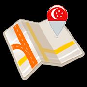 Map of Singapore offline
