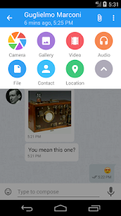 Kontalk Messenger- screenshot thumbnail