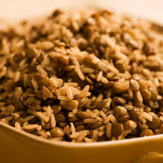 Brown Rice and Lentils.