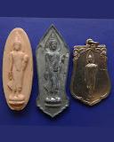 3.กล่องชุดพระ 25 พุทธศตวรรษ 3 องค์ ดิน-ชิน-เหรียญ พ.ศ. 2500