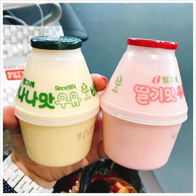 必買必回購清單韓國香蕉牛奶