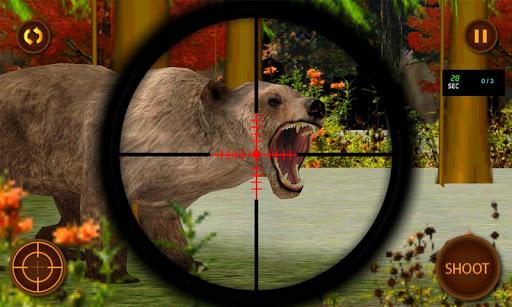 スナイパージャングルクマ狩猟3D