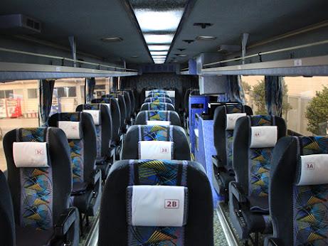 阪急バス「よさこい号」 2891 車内