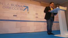 Pérez Quiles durante un mitin años atrás en una fotografía de archivo.