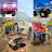 Bigfoot Monster Trucks Offroad Parking 3d Jam Show Icône