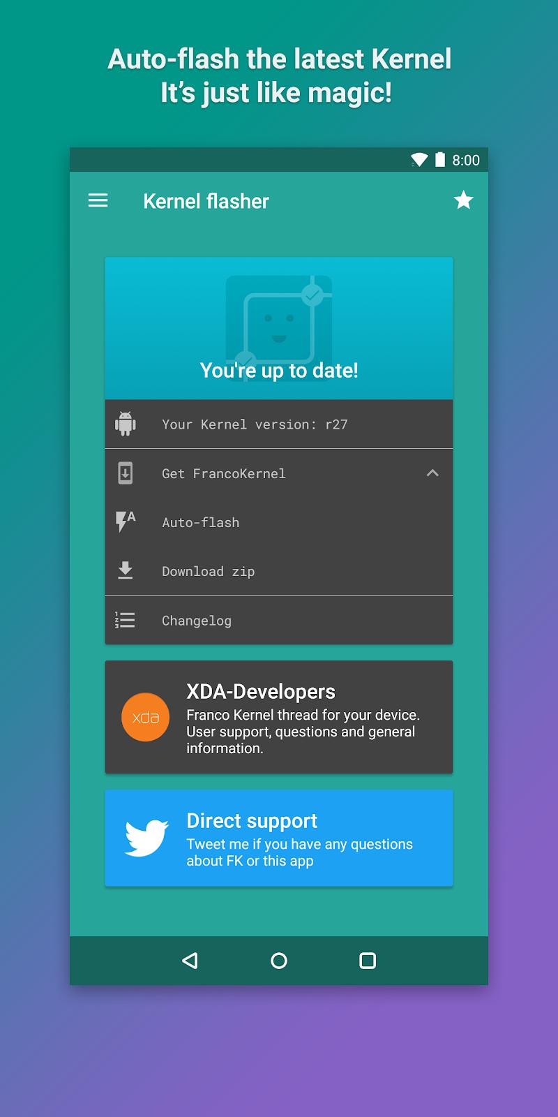 Kernel Manager for Franco Kernel ✨ Screenshot