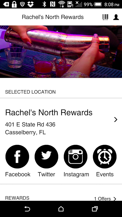 Rachel's North Rewards Program- screenshot