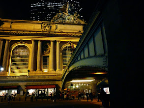 Photo: Grand Central Terminal at night.   Midtown, New York City  View the writing that accompanies this post here at this link on Google Plus:  https://plus.google.com/108527329601014444443/posts/Dh4HXJZokUU  View more New York City photography by Vivienne Gucwa here:  http://nythroughthelens.com/