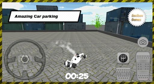 真正的赛车停车场
