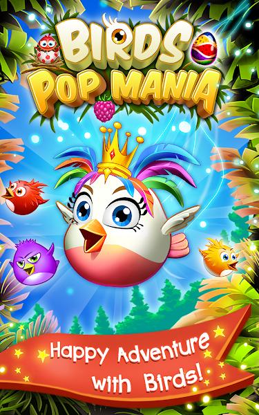 Birds Pop Mania v2.2 [Mod]