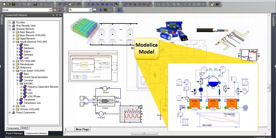 Modelica – это мощный стандартизованный язык для моделирования сложных систем