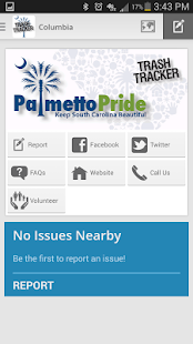 PalmettoPride Trash Tracker- screenshot thumbnail