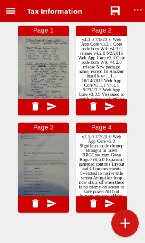 PDF Document Scanner Beta- screenshot