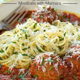 Italian Meatballs with Marinara Recipe