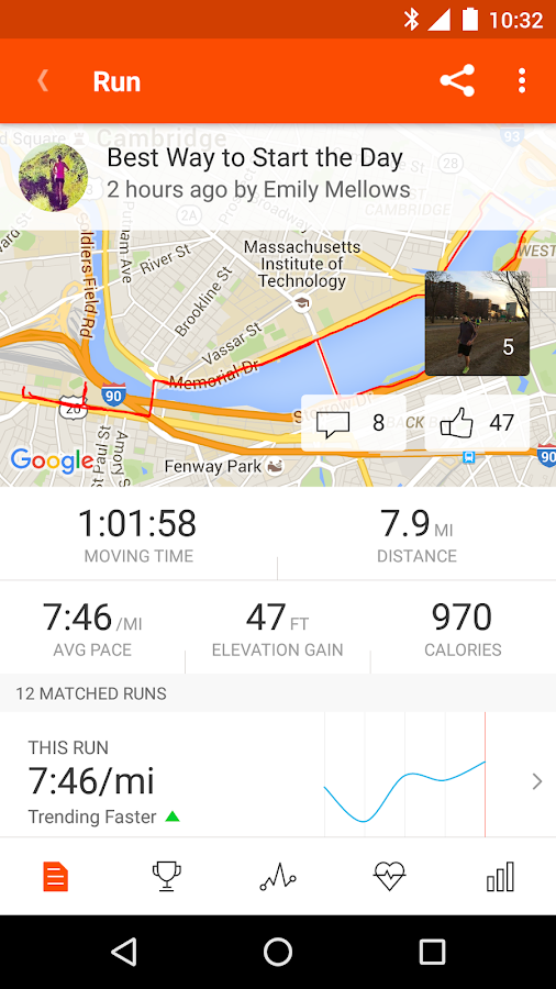 Strava Running and Cycling GPS- screenshot