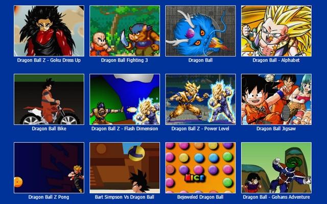 Dragon Ball Z Games