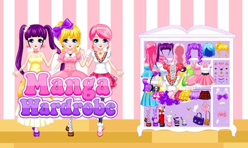 Dress Up Manga Wardrobe 4.1 de.gamequotes.net 1