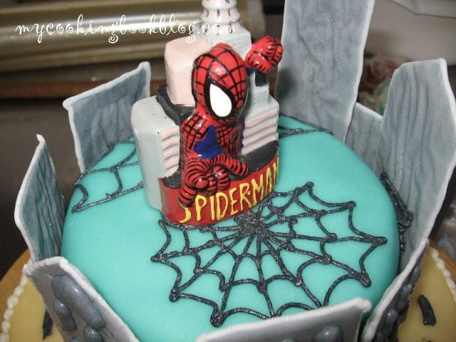 Торта със Спайдър-мен