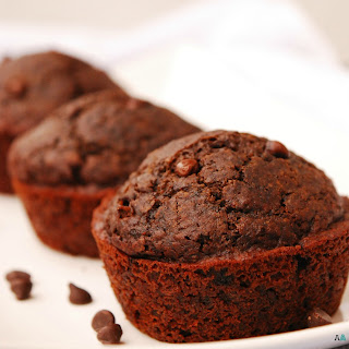 Double Chocolate Muffins (GF, DF, Egg, Soy, Peanut/Tree nut Free, Top 8 Free, Vegan)