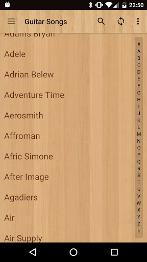 Guitar Songs 7.4.3 vint screenshots 2