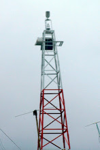 Photo: one of 14 lighthouse around San Andreas - taken from a taxi in the rain