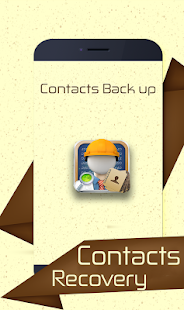 Deleted Contact Restore Backup Screenshot