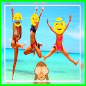 Square Emoji Sticker - Photo icon