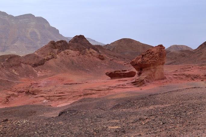 Fascinație geologică în parcul Timna