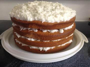 4 Day Refrigerated Coconut Cake
