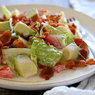 BLT Salad with Avocado.