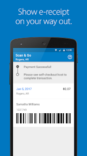 Walmart Scan & Go- screenshot thumbnail