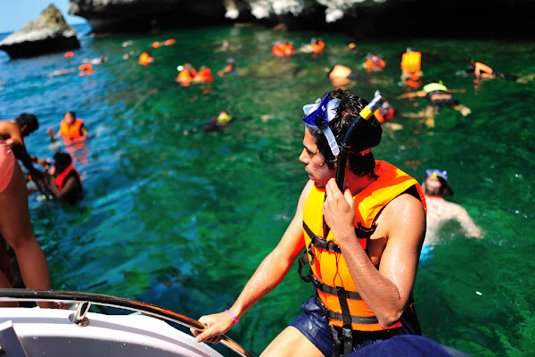 Snorkel fun in the Gulf of Thailand