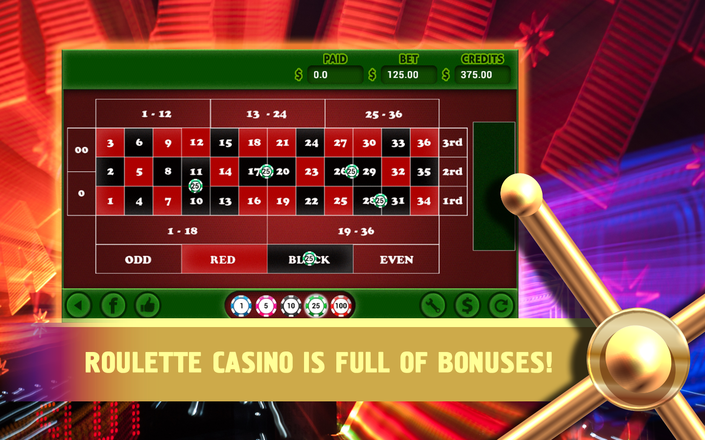 Free roulette games download for mobile