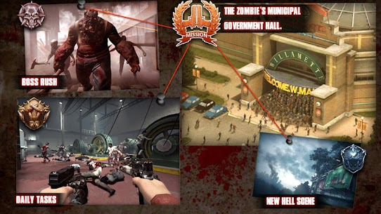 Zombie Sniper Evil Hunter MOD Unlimited Money | All Guns Unlocked 3